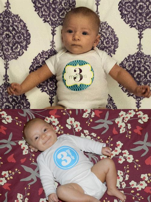 3 month comparison