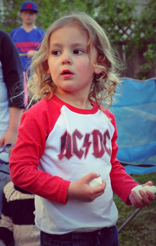Our little rockstar