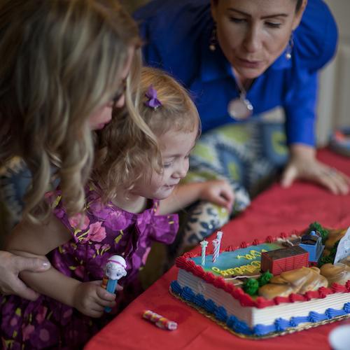 Photos from Ava's 3rd birthday