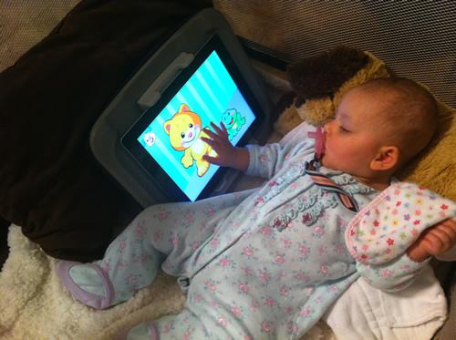 Playing with Grandma's iPad