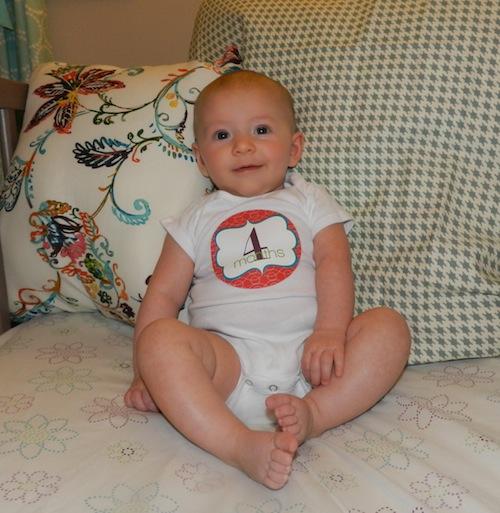 Elise 4 months