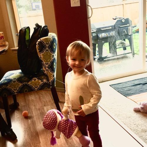 Elise on Thanksgiving