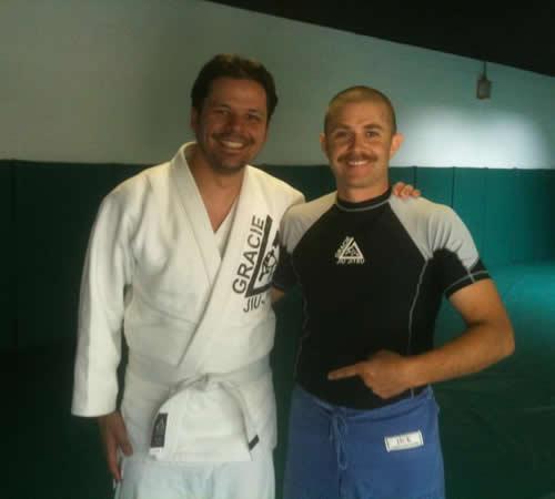 With my instructor Matt Becker