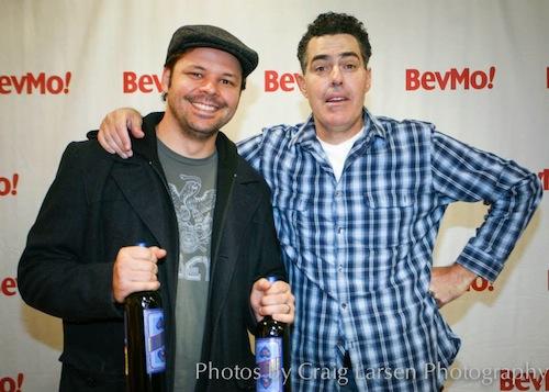 With Adam Carolla