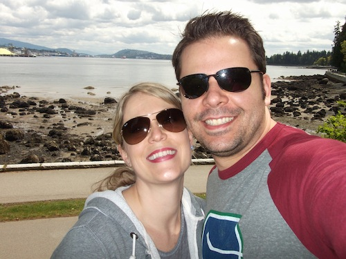 Hanging out at Stanley Park