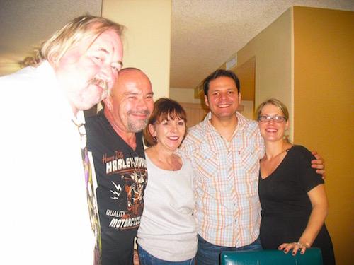 Bob, Terry, Mom, Myself, and Jessica, taken by Sandy