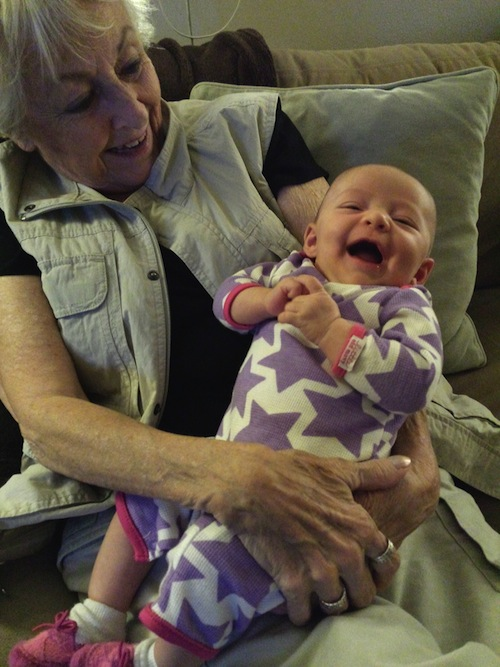 Elise and her Great Grandma
