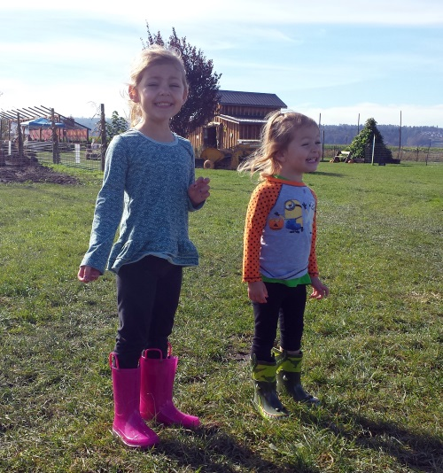 Loving their new boots