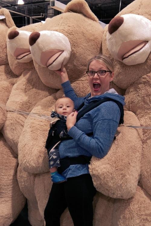 Now that's a teddy bear!