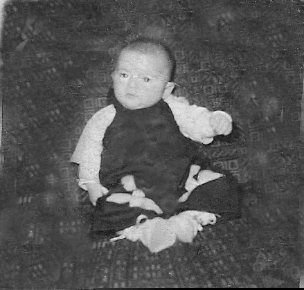 Mom at 3 months old